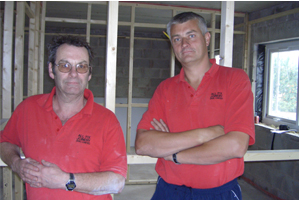 Bryn and Mark Directors of Allfix Joinery